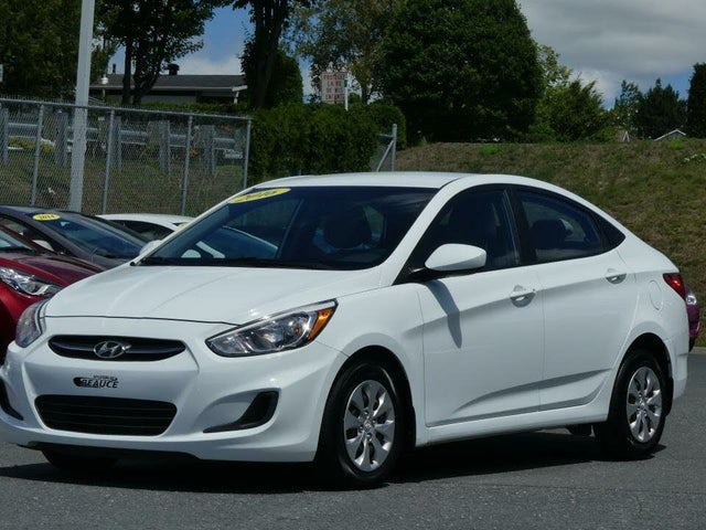 2016 Hyundai Accent GL Sedan FWD