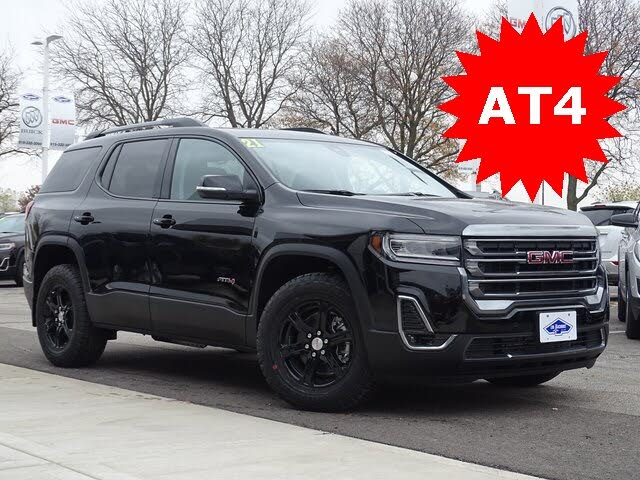 2021 gmc acadia at4 awd for sale in madison, wi - cargurus