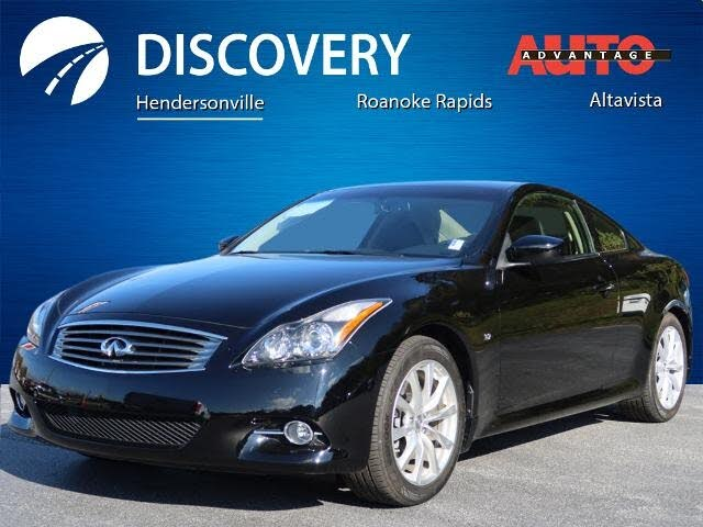 2015 INFINITI Q60 Journey Coupe RWD