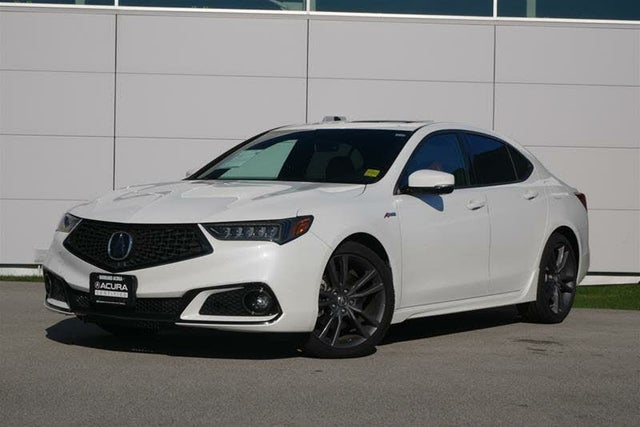 2018 Acura TLX FWD with Technology and A-Spec Package