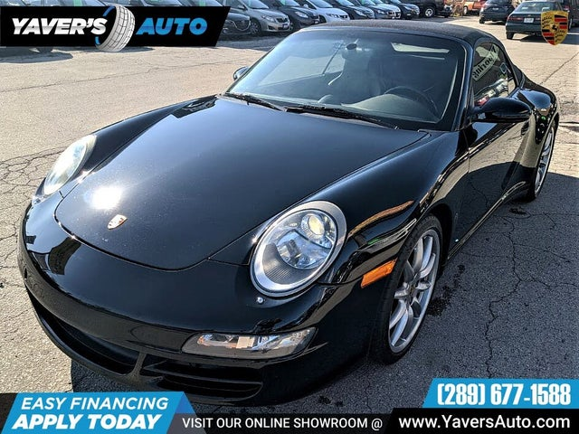 2008 Porsche 911 Carrera 4S AWD Convertible
