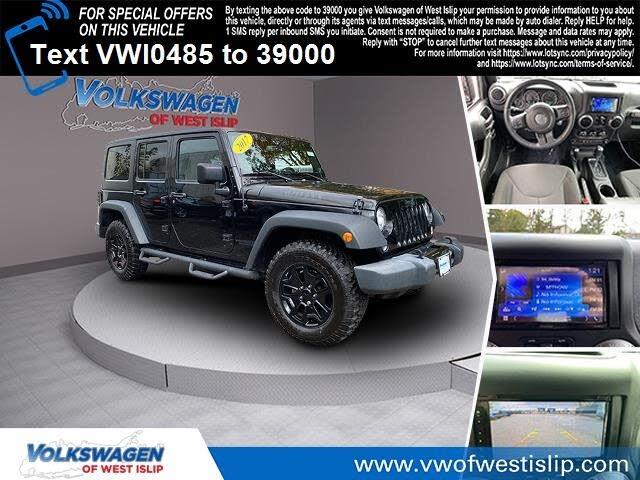 2017 Jeep Wrangler Unlimited Willys Wheeler W 4WD