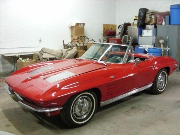 1963 Chevrolet Corvette Sting Ray Convertible RWD