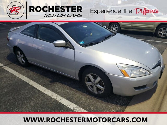 2005 Honda Accord Coupe EX with Leather