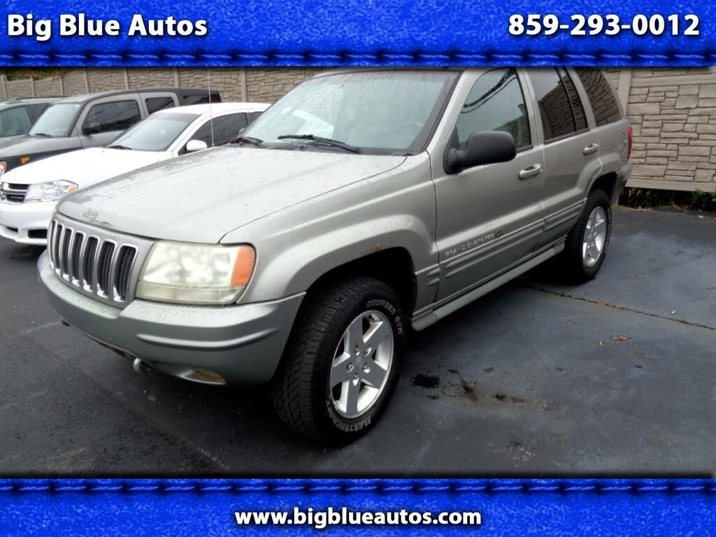 used 2002 jeep grand cherokee overland for sale right now cargurus used 2002 jeep grand cherokee overland