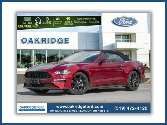 2018 Ford Mustang EcoBoost Premium Convertible RWD