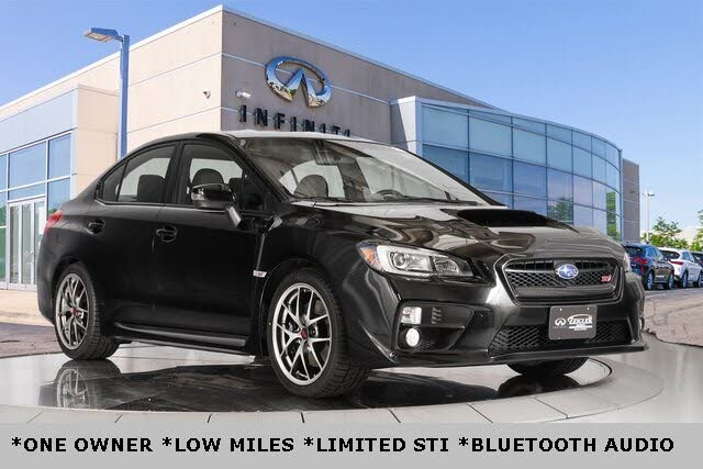 2017 Subaru WRX STI Limited with Low Profile Spoiler AWD