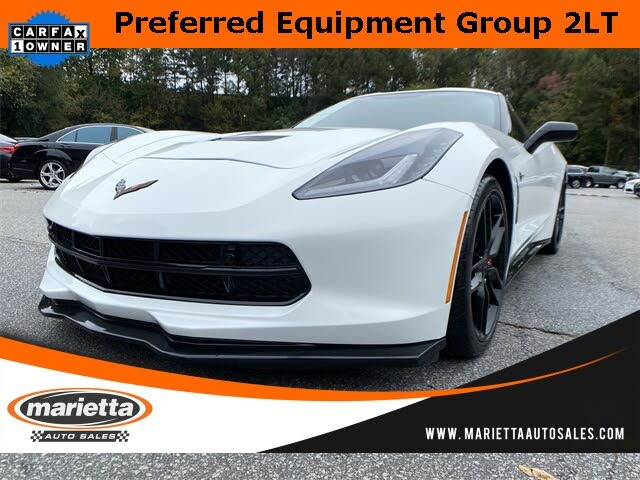 2017 Chevrolet Corvette Stingray 2LT Coupe RWD