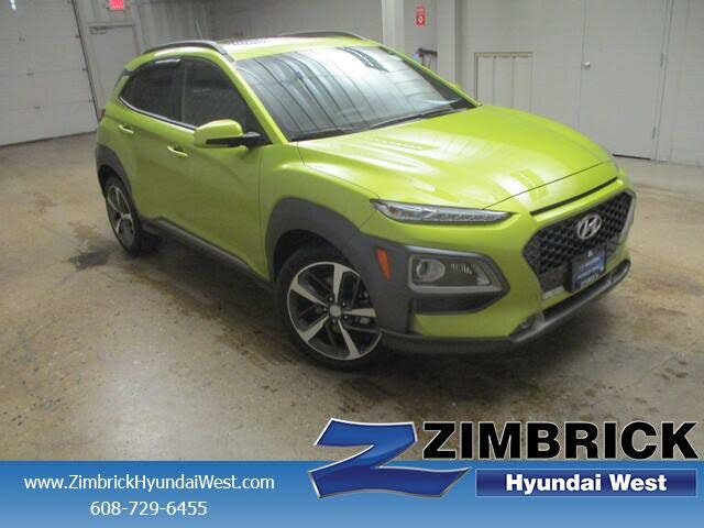 2018 Hyundai Kona Limited AWD with Lime Accent