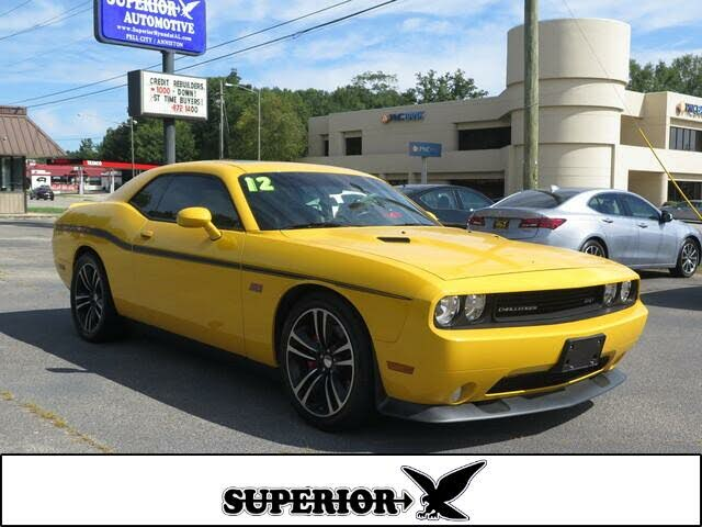 2012 Dodge Challenger SRT8 392 Yellow Jacket RWD