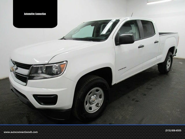 2019 Chevrolet Colorado Work Truck Crew Cab LB 4WD
