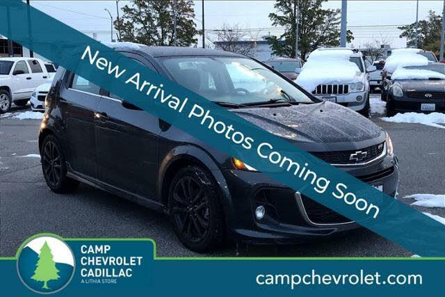 2018 Chevrolet Sonic Premier Hatchback FWD
