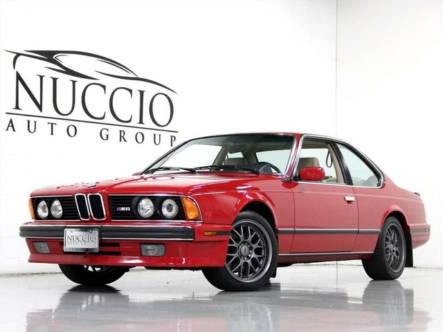 1988 BMW M6 Coupe RWD