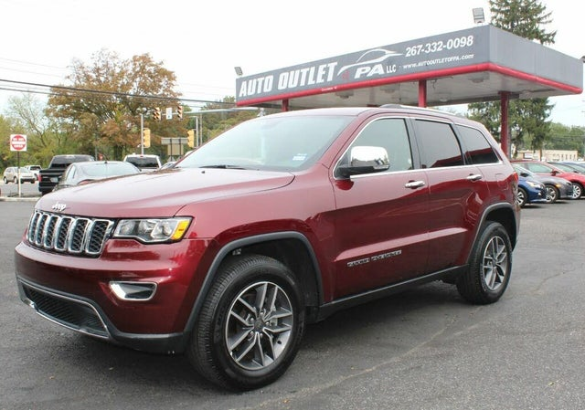 2019 Jeep Grand Cherokee Limited X RWD