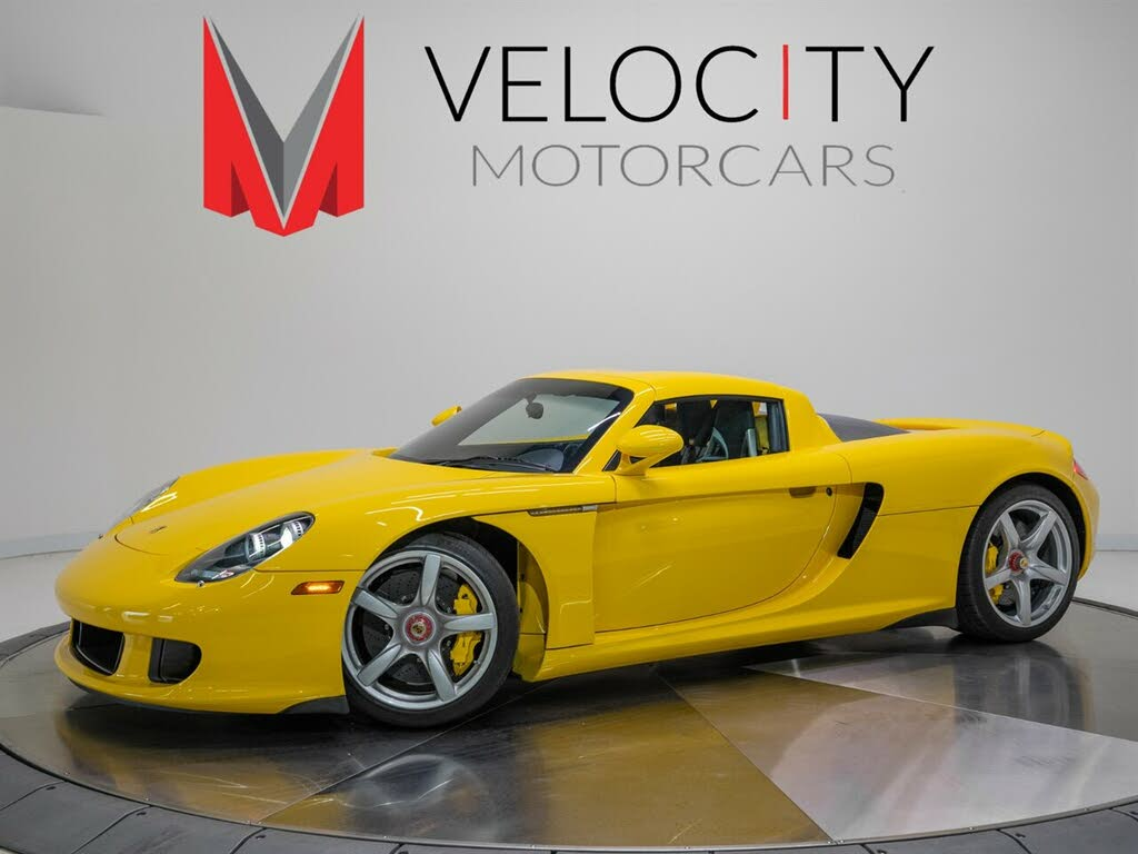 Used 2005 Porsche Carrera Gt For Sale Right Now Cargurus