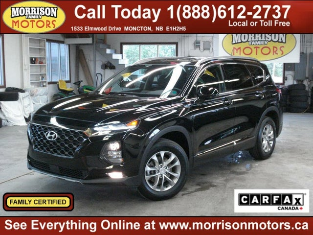 2019 Hyundai Santa Fe 2.4L Essential AWD with SmartSense Package and Dark Chrome Accent