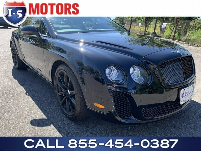 2010 Bentley Continental Supersports Coupe AWD