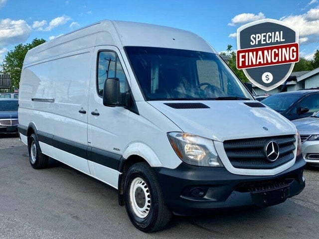 2016 Mercedes-Benz Sprinter Cargo 2500 170 High Roof Extended RWD