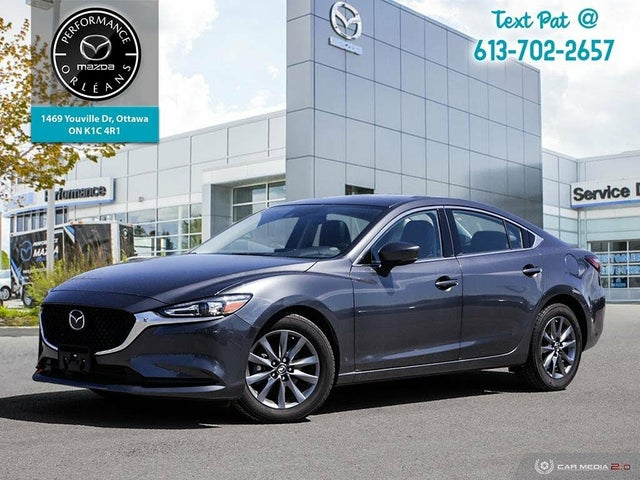 2018 Mazda MAZDA6 GS-L FWD with Turbo