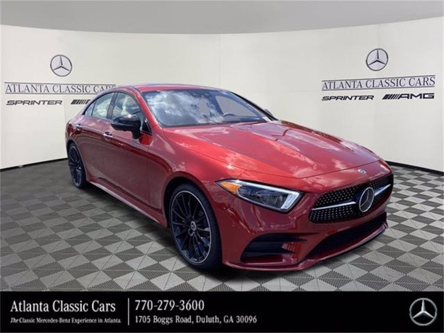 2020 Mercedes-Benz CLS-Class CLS 450 4MATIC Coupe AWD