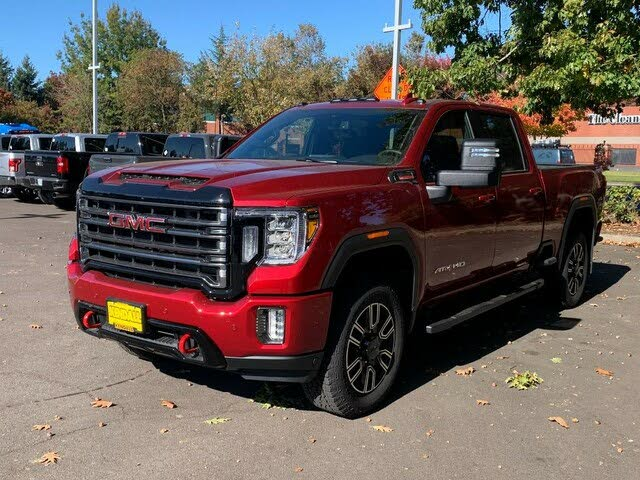 2020 gmc sierra 2500hd at4 crew cab 4wd for sale in bend