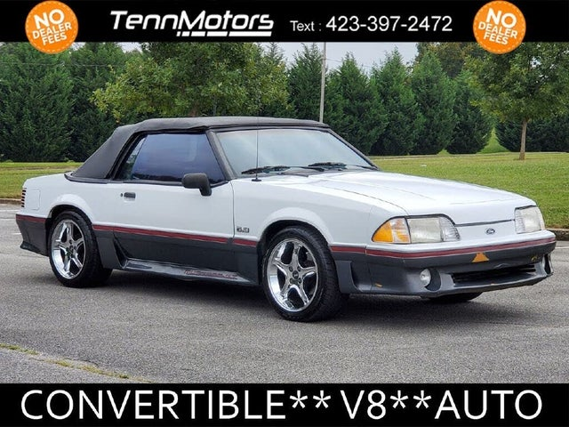 1989 Ford Mustang GT Convertible RWD