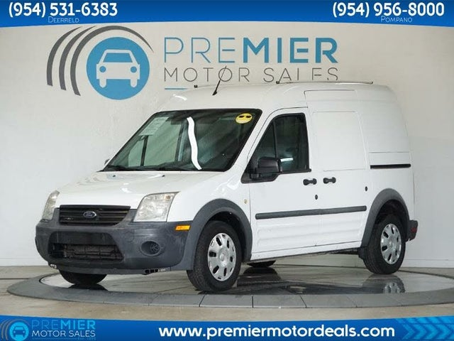 2013 Ford Transit Connect Cargo XL FWD with Side and Rear Glass
