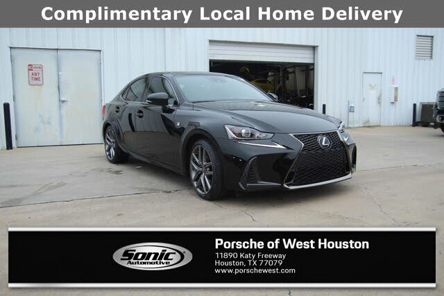 2019 Lexus IS 350 RWD