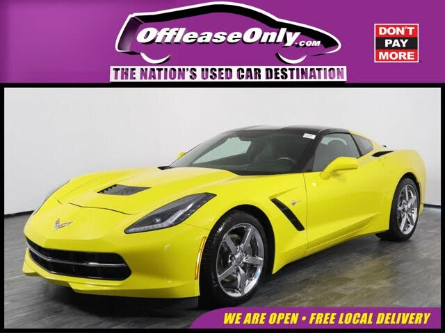2015 Chevrolet Corvette Stingray 3LT Coupe RWD
