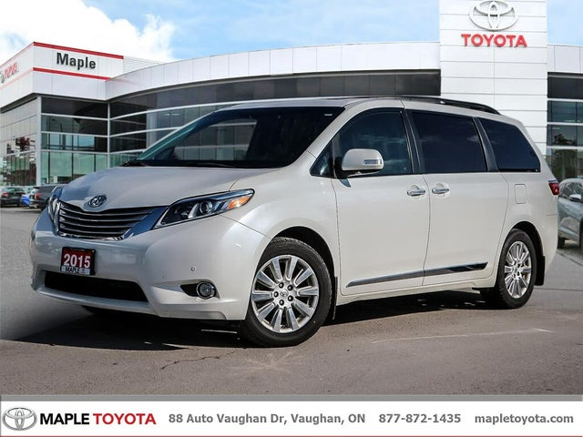 2015 Toyota Sienna Limited 7-Passenger AWD