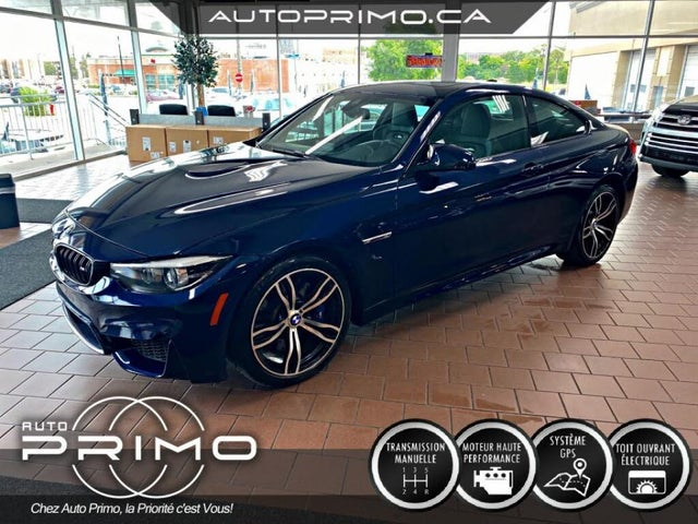 2019 BMW M4 Coupe RWD