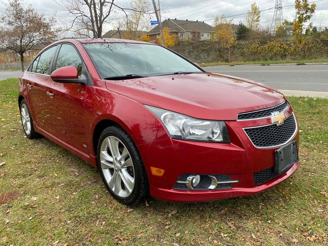 2012 Chevrolet Cruze LTZ Turbo Sedan FWD