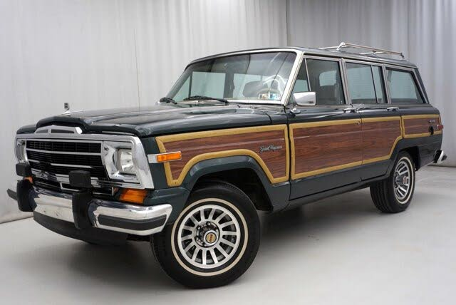 1991 Jeep Grand Wagoneer 4 Dr STD 4WD SUV