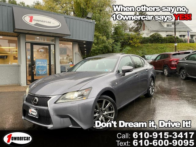 Used 2013 Lexus Gs 350 F Sport Awd For Sale Right Now Cargurus