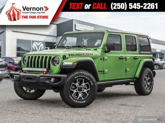 2019 Jeep Wrangler Unlimited Rubicon 4WD