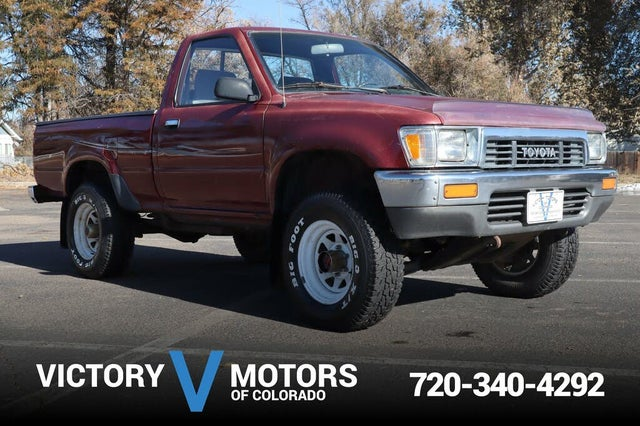 1991 Toyota Pickup 2 Dr Deluxe 4WD Standard Cab SB