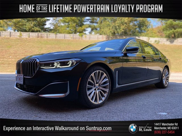 2021 BMW 7 Series 750i xDrive AWD