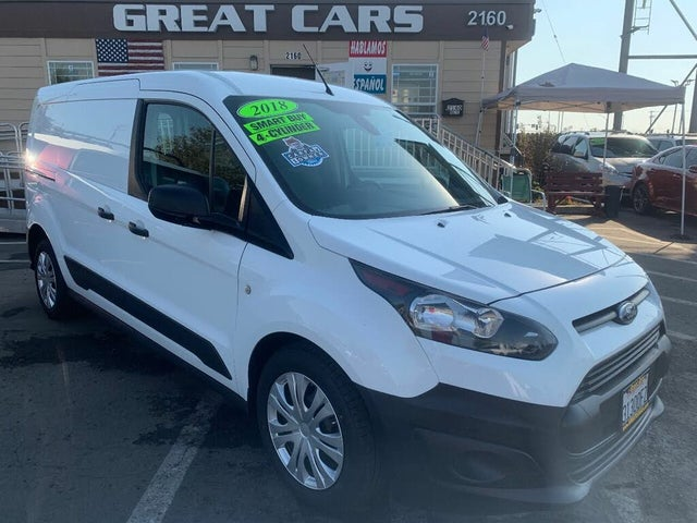 2018 Ford Transit Connect Cargo XL LWB FWD with Rear Liftgate