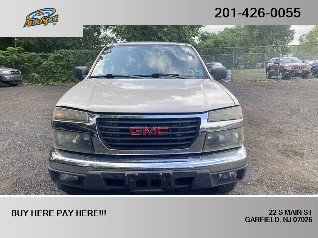 2007 GMC Canyon 4 Dr SLE1 Crew Cab 4WD