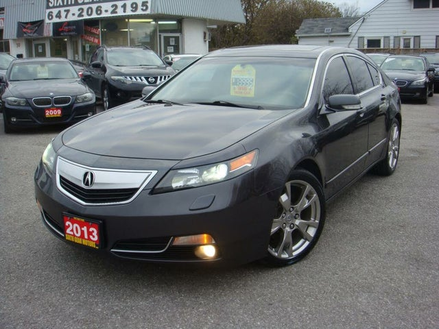 2013 Acura TL SH-AWD with Elite Package