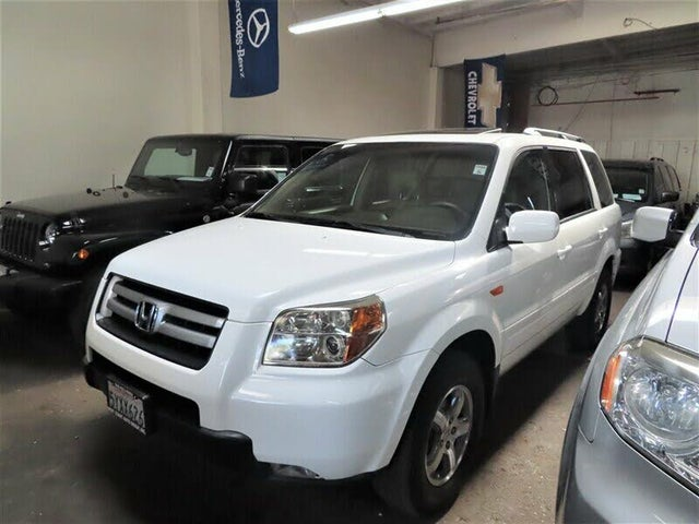 2007 Honda Pilot EX-L with DVD
