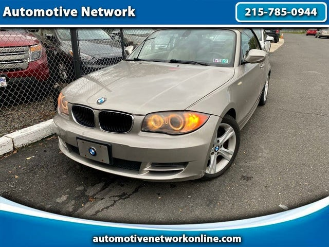 2010 BMW 1 Series 128i Convertible RWD