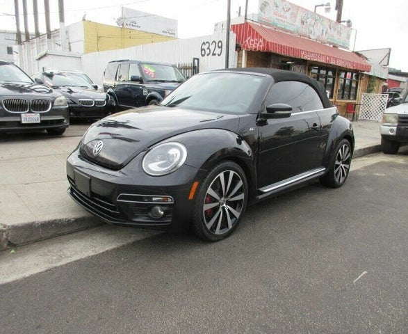 2014 Volkswagen Beetle R-Line Convertible with Sound and Navigation