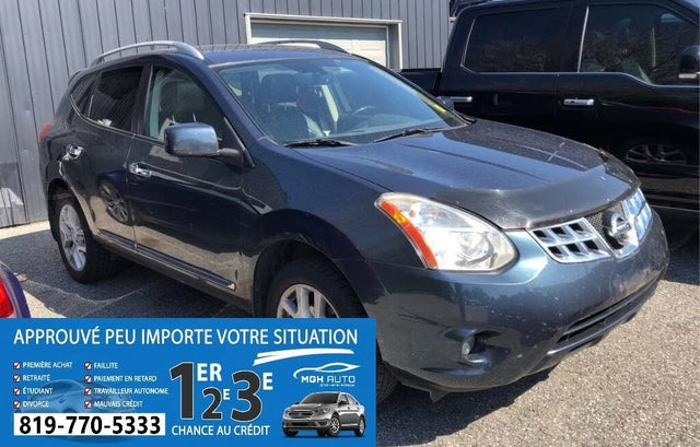 2013 Nissan Rogue SV with SL AWD