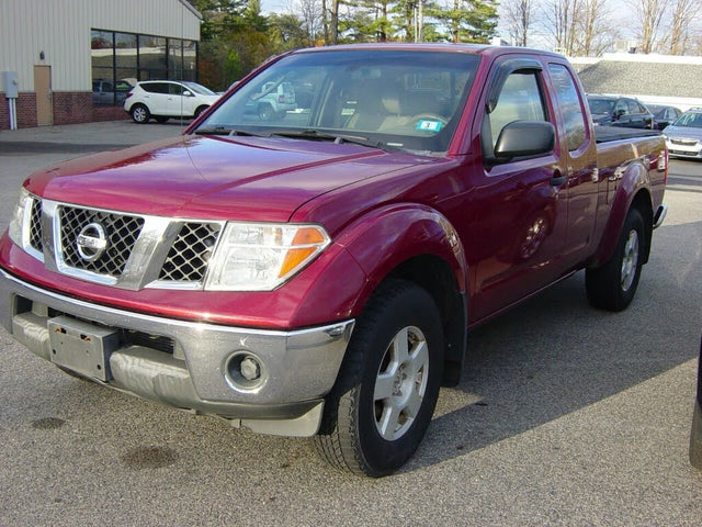 2006 Nissan Frontier SE King Cab 4WD SB with manual