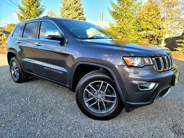 2017 Jeep Grand Cherokee Limited 4WD