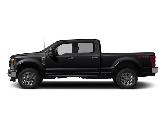 2018 Ford F-350 Super Duty Platinum Crew Cab 4WD