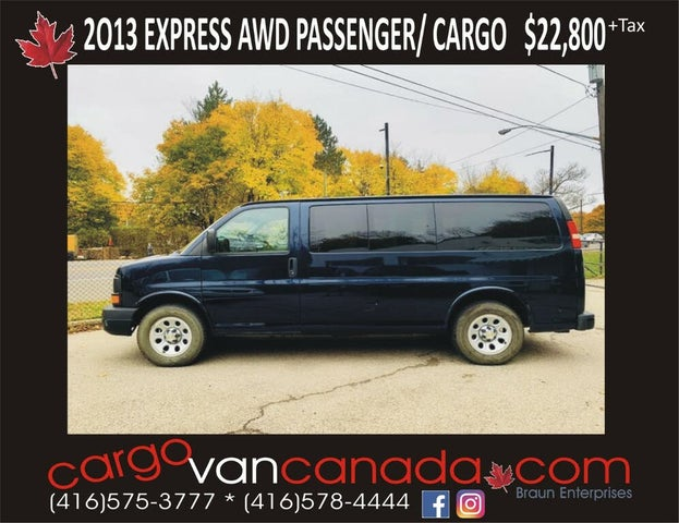 2013 Chevrolet Express 1500 LS AWD