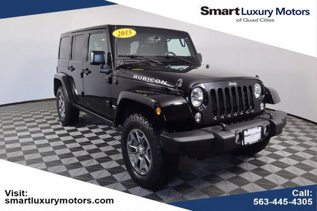 Used 2015 Jeep Wrangler Unlimited Rubicon 4wd For Sale Right Now Cargurus