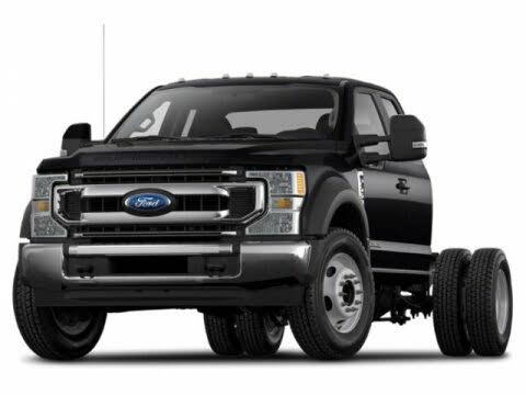 2020 Ford F-350 Super Duty Chassis XL Crew Cab DRW 4WD